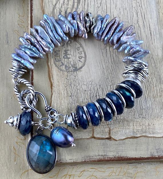 moonstone bracelet labradorite bracelet lapis bracelet bracelet bohemian bracelet for her dendrite opal bracelet boho bracelet