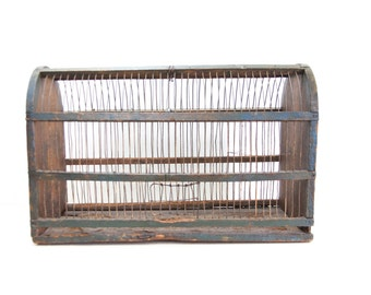 Large Rustic Shabby Chic French Birdcage