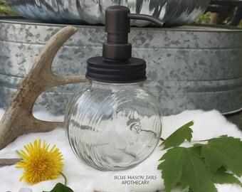 Soap Dispenser | Sellers Soap Dispenser | Sugar Jar | Hoosier Cabiner | Soap Pump | Vintage Jar |