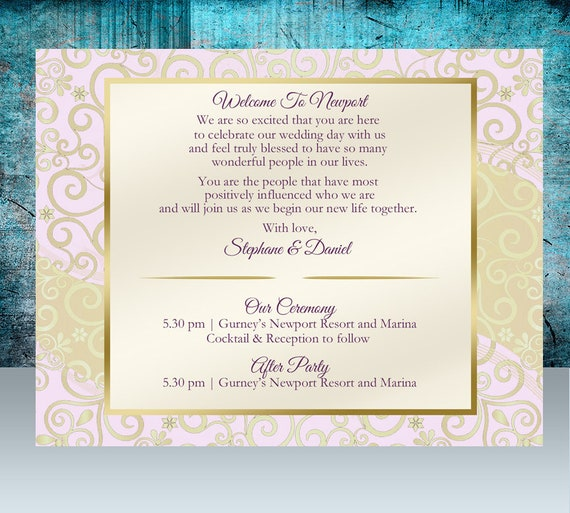 20 Custom Indian Wedding Note Cards Hindi Wedding Welcome Note Thank You Card Reception Menu Rehearsal Dinner Brunch Invitation