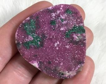 Cobalto Calcite Druzy Cabochon // Cobalto Calcite Cabochons // Gems // Cabochons // Jewelry Making Supplies // Village Silversmith