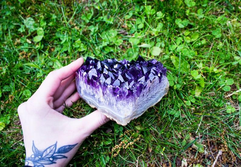 Amethyst Geode  Amethyst Crystal  Metaphysical Stone  Village Silversmith