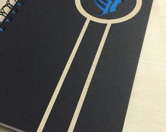 Paragon Laser Cut Notebook Journal (Black)