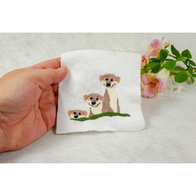 Embroidery file meerkat file for embroidery machine machine image 0