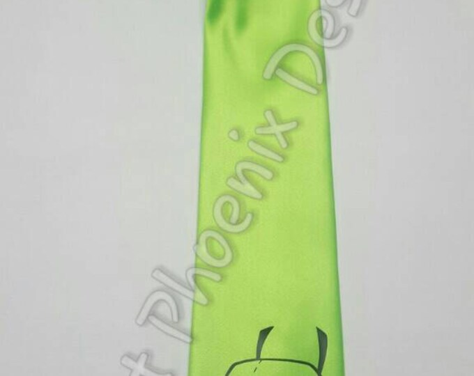 Gir In Dog Suit NeckTie