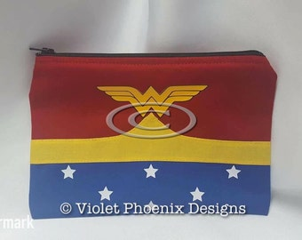 Superhero WW Cosmetic Bag