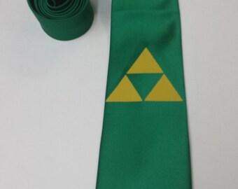 Zelda Triforce Mens NeckTie