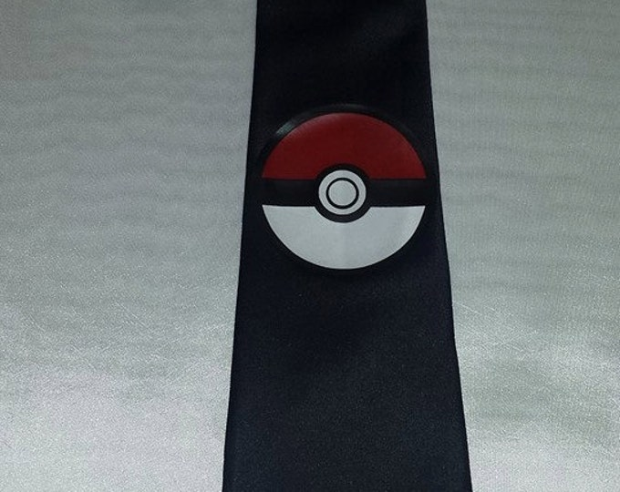 Pokeball Mens NeckTie