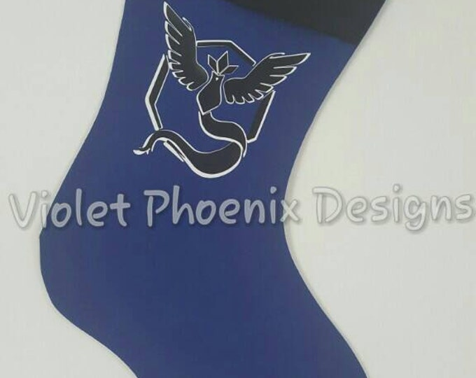 POGO Team Mystic Holiday Stocking