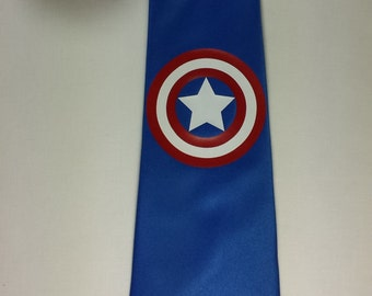 Comic All American Superhero Necktie