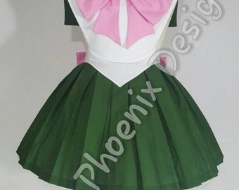 COMMISSION: Magical Jupiter Girl Cosplay Retro Pin Up Apron Pinafore