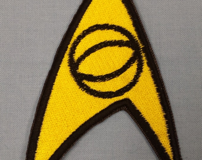Science/medical Insignia (Blue shirt) Sew on Patch