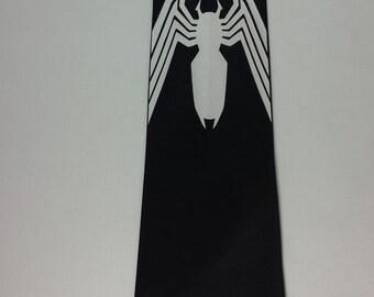 Venom Spiderman Mens NeckTie