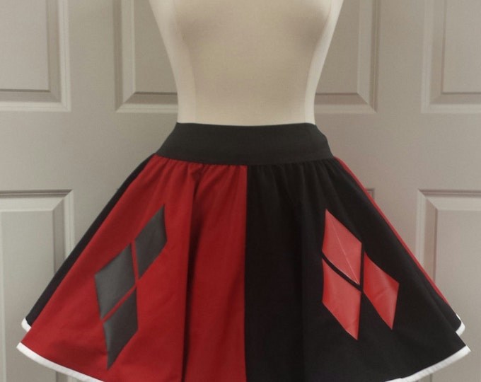 COMMISSION: Harley Quinn Skirt