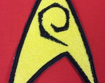Star Trek Engineering/Security Insignia (Red Shirt) Sew on Patch