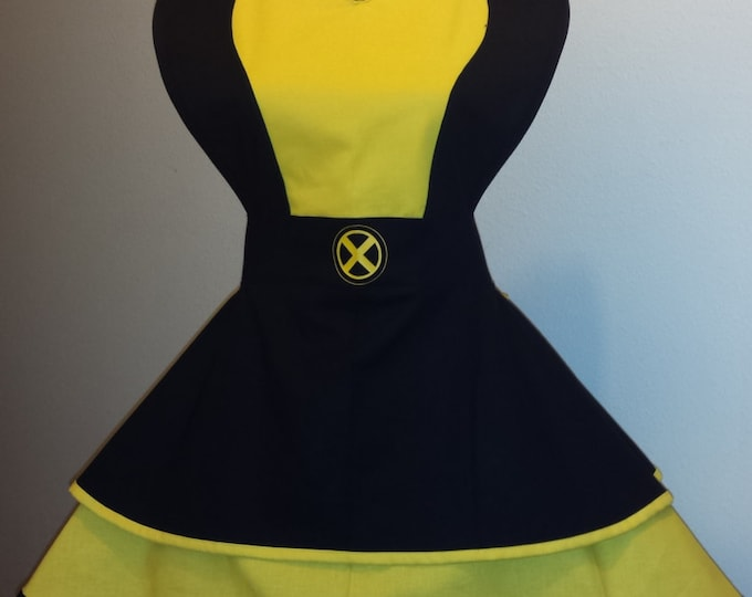 COMMISSION: XMen Fandom Cosplay Retro Pin Up Apron