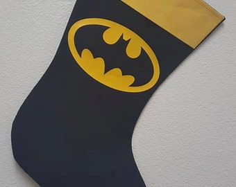 BatMan Holiday Stocking