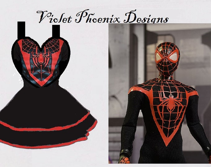 PROTOTYPE: Fandom Cosplay Retro Pin Up Apron