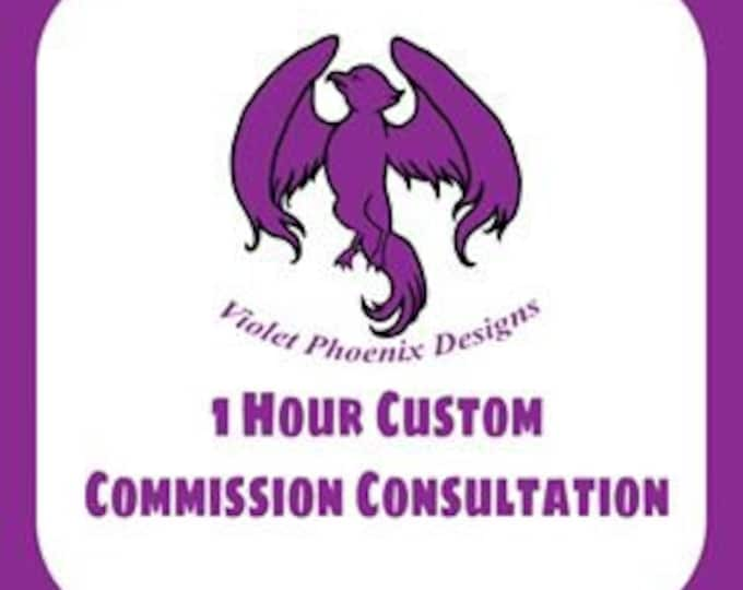 1 Hour Commission Consultation