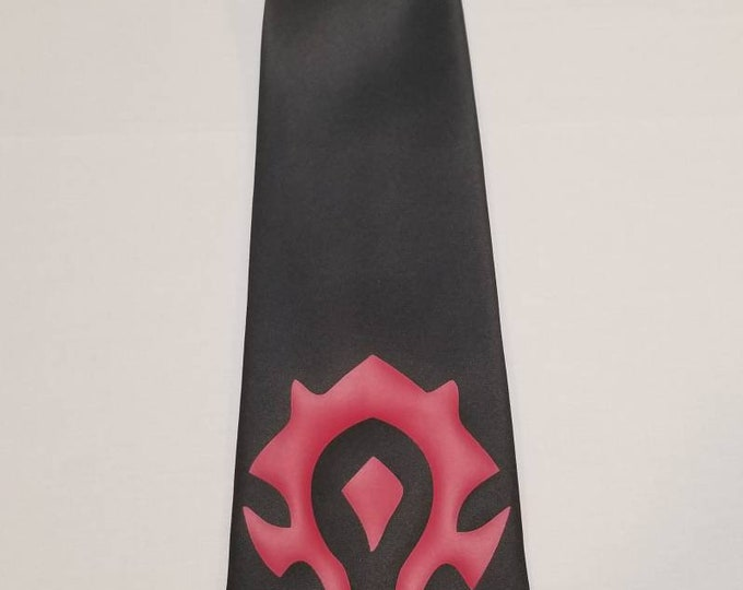 WOW Horde Mens NeckTie