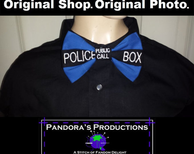 Bow Ties Are Cool: Police Box BowTie