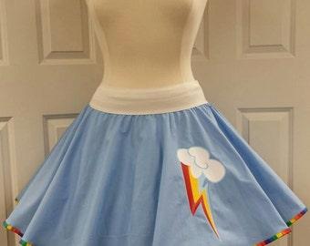 COMMISSION: Rainbow Cutie Skirt