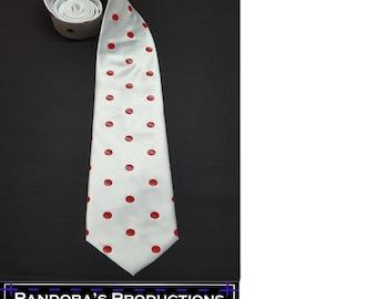 Red Polkadot Necktie