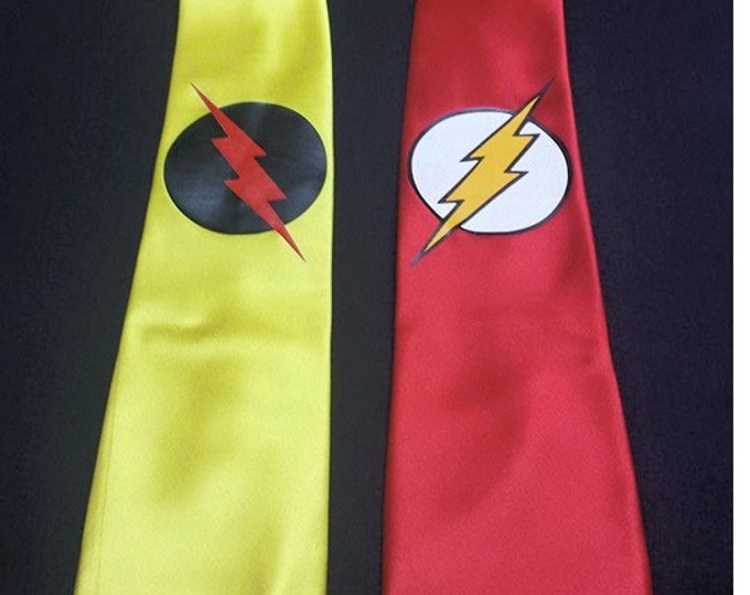The REVERSE Flash Mens NeckTie