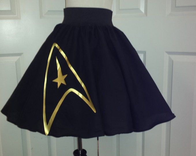COMMISSION: Star Trek Inspired Skirt (Assorted Colors Avaliable)