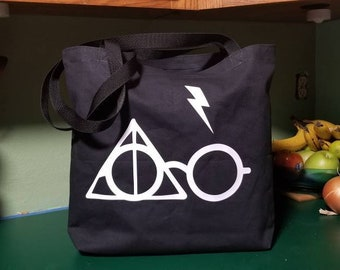 Boy Magician Reusable Tote/ Shopping Bag
