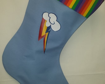 Rainbow Cutie Fandom  Holiday Stocking