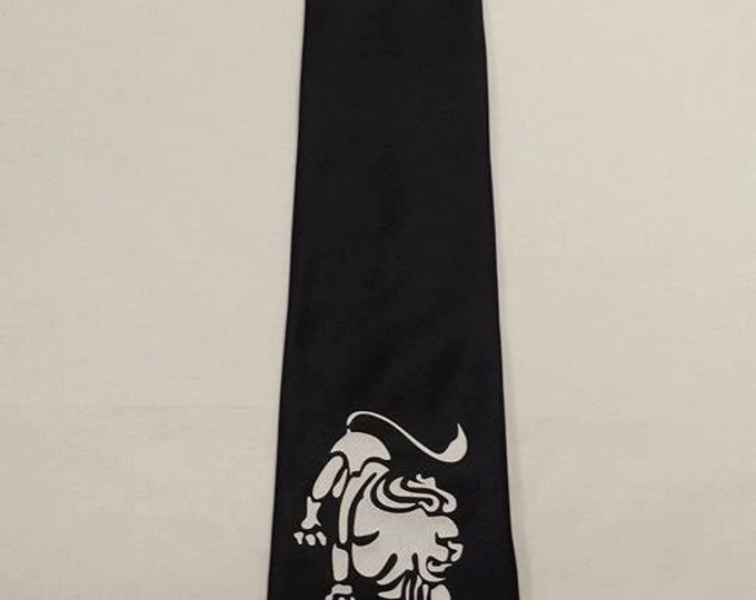 Zodiac Leo the Lion Mens NeckTie