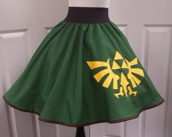 COMMISSION: Video Game Hero Inspired Skirt (Assorted Colors Avaliable)