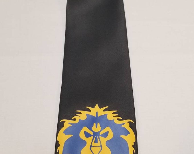 WOW Alliance Mens NeckTie