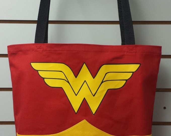 Inquistive Woman Cosplay Reusable Tote/ Shopping Bag