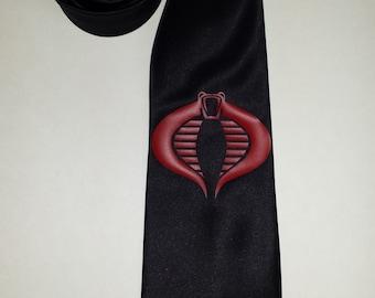 Cobra Commander Mens NeckTie