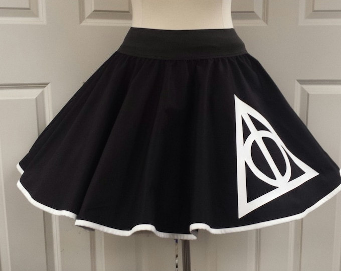 COMMISSION: Deathly Hallows  Skirt (Assorted Colors Available)