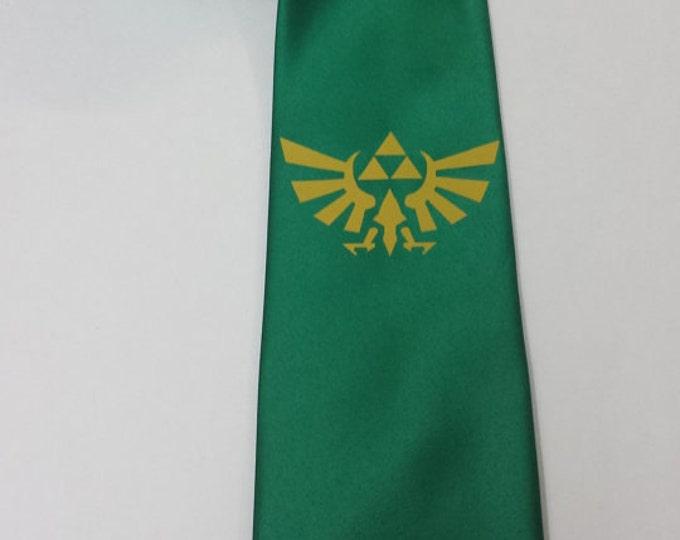 Zelda Hylian Crest NeckTie