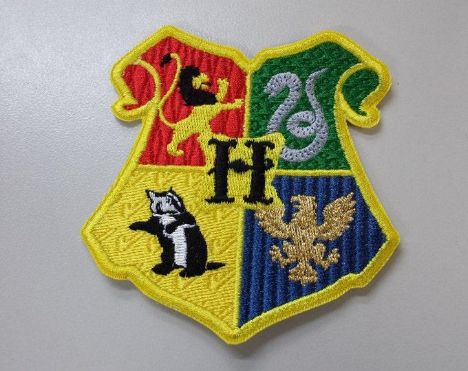 Harry Potter Hogwarts Crest Patch