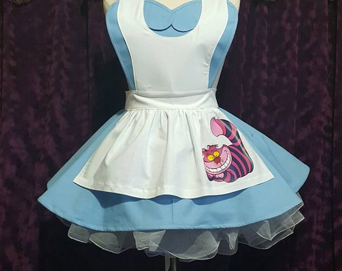 COMMISSION: Wonderland Cosplay Retro Pin Up Apron
