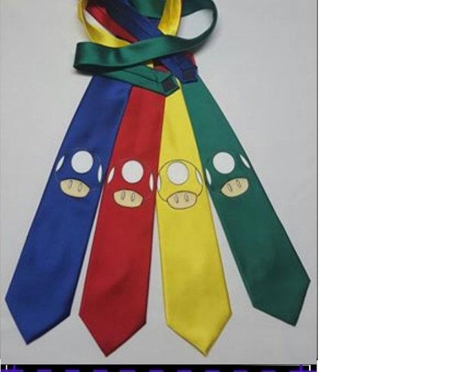 Toadstool Necktie