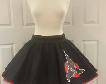 COMMISSION: Star Trek Klingon Inspired Skirt (Assorted Colors Avaliable)