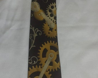 Steampunk Inspired Mens NeckTie