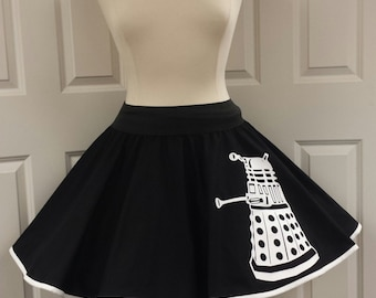 Dalek  Skirt (Assorted Colors Available)