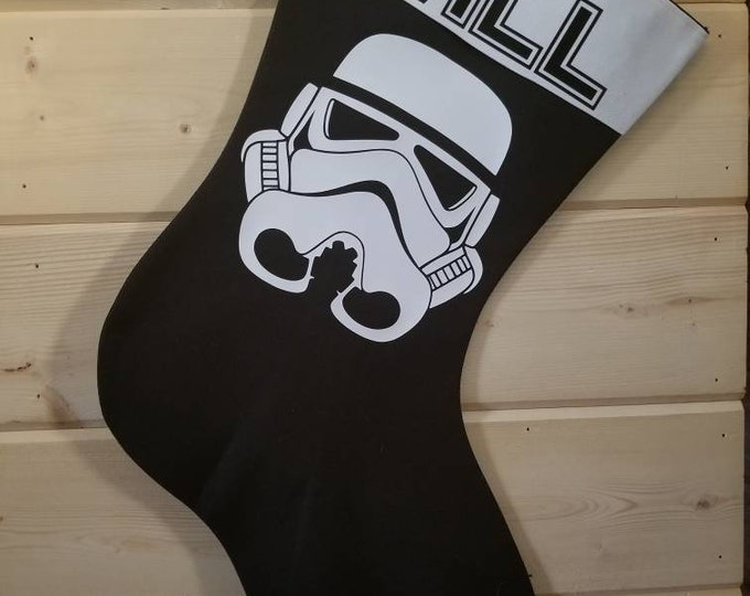 Stormtrooper Holiday Stocking