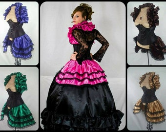 Satin Bustle ONLY (Multiple colors avaliable)