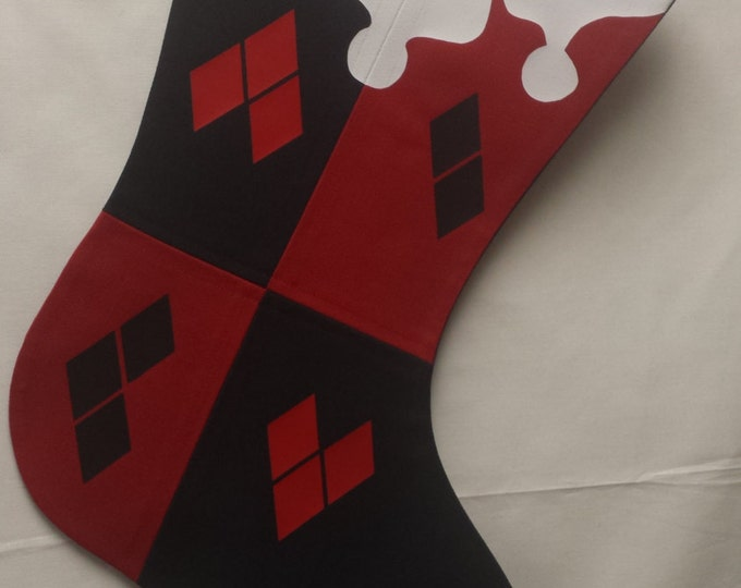 Harley Quinn  Holiday Stocking