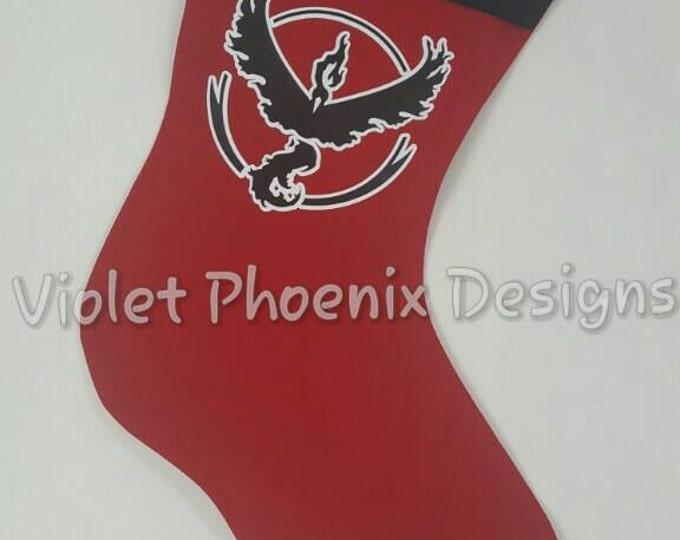 POGO Team Valor Holiday Stocking