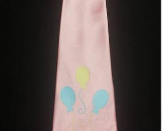 Pink Pie Pony Mens Neck Tie