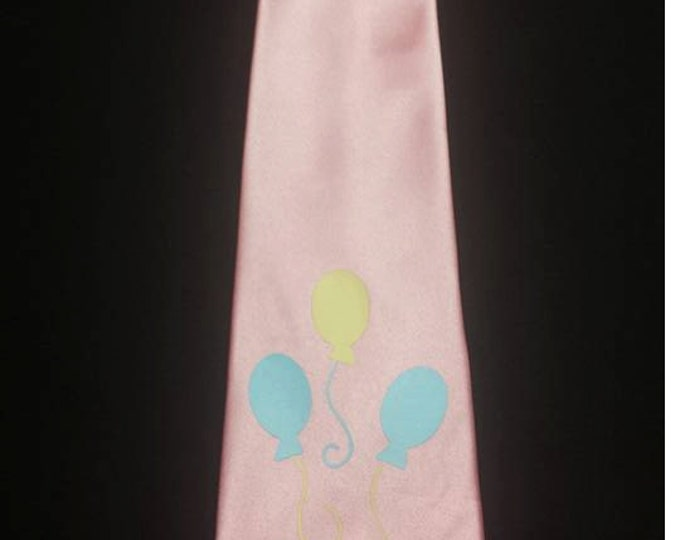 Pink Pie Pony Mens Neck Tie